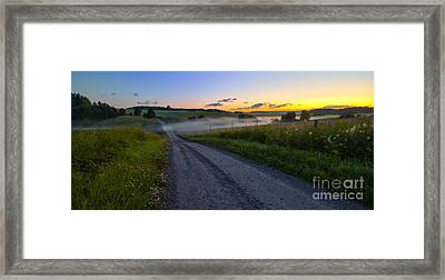 Summer Morning At 3.31 Framed Print by Veikko Suikkanen