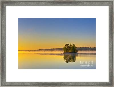 Summer Morning At 5.05  Framed Print by Veikko Suikkanen