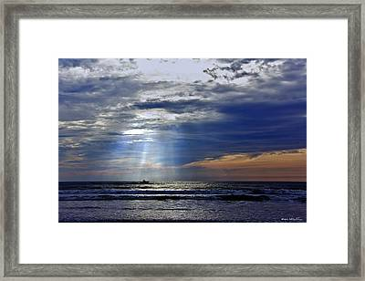 Summer Morning Charter Framed Print