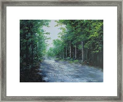 Summer Morning Framed Print by Ken Ahlering