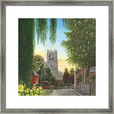Summer Morning St. Mary Framed Print by Richard Harpum