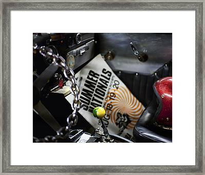 Summer Nationals Framed Print by Peter Chilelli
