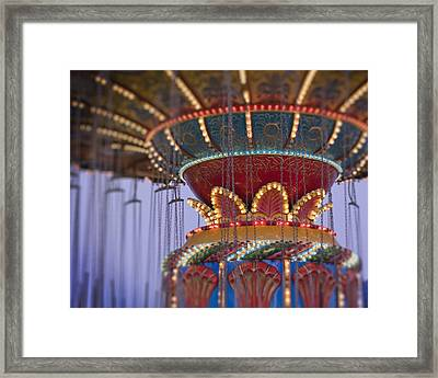 Summer Nights Framed Print
