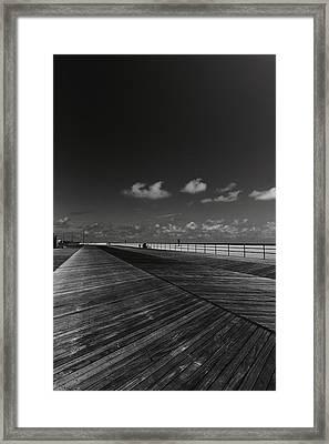 Summer Noir Framed Print