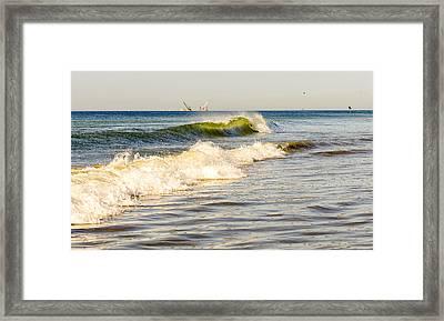 Summer Ocean Scene 1 Framed Print
