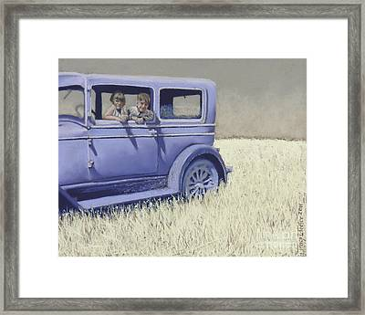 Summer Of '29 Framed Print by Tracy L Teeter