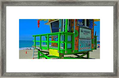 Summer Of Color - Mike Hope Framed Print