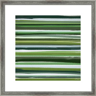 Summer Of Green Framed Print