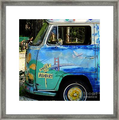 Summer Of Love In Hashbury Framed Print