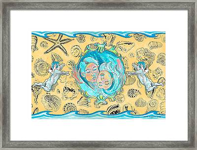 Framed Print featuring the painting Summer Of Love by John Keaton