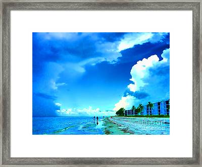 Summer On Sanibel Island Framed Print by Jeff Breiman