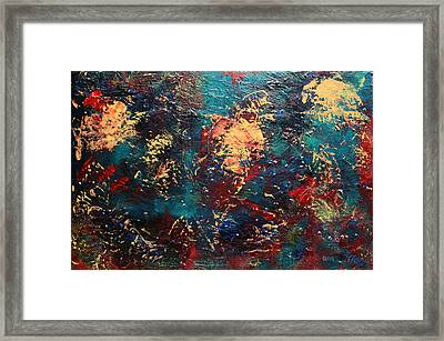 Summer Framed Print by Oscar Penalber