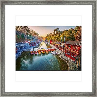 Summer Palace Beijing Framed Print