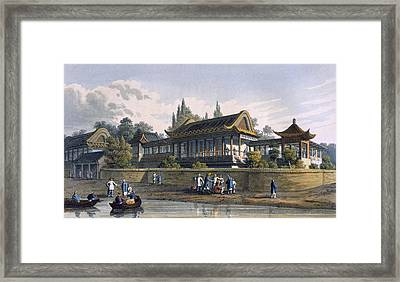 Summer Palace Of The Emperor, Opposite Framed Print