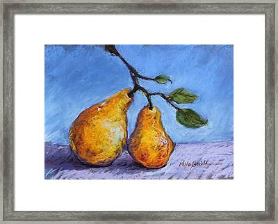 Summer Pears Framed Print by Kelley Smith