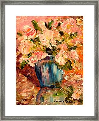 Summer Petals Framed Print by Barbara Pirkle