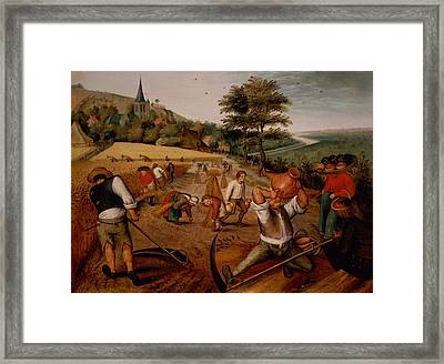 Summer Framed Print by Pieter the Younger Brueghel