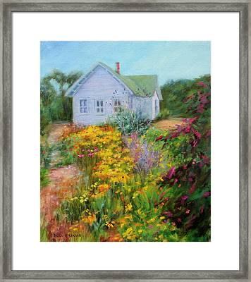 Summer Place- On The Outer Banks Framed Print