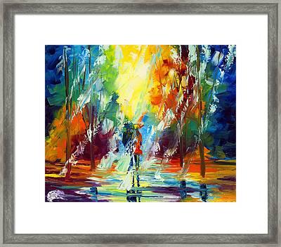 Summer Rain Framed Print by Ash Hussein
