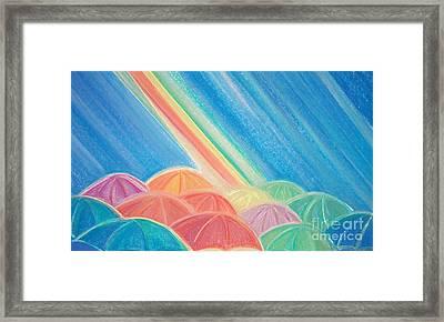 Summer Rain By Jrr Framed Print by First Star Art