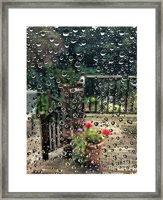 Summer Rain Framed Print by HD Connelly