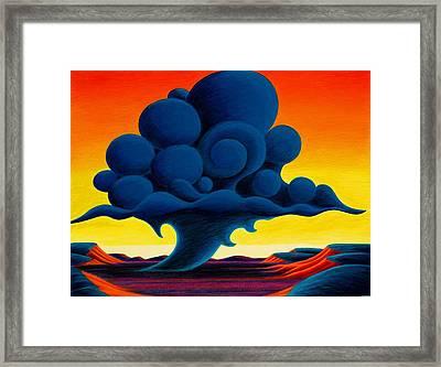 Summer Rain Framed Print by Richard Dennis