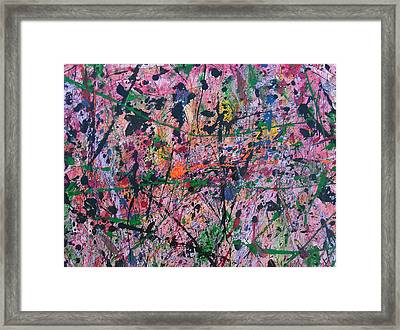 Summer Rain Framed Print by Ronda Stephens