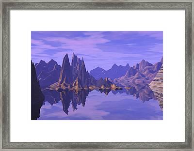 Summer Reflection  Framed Print
