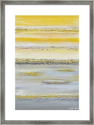 Summer Reflections Framed Print by Christine Krainock