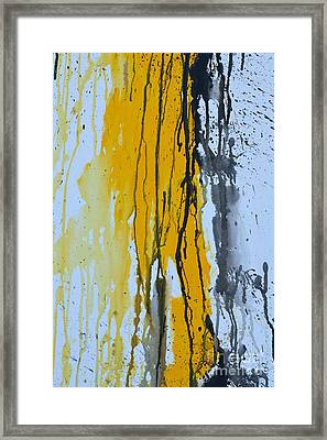 Summer Rein 1 - Abstract Framed Print