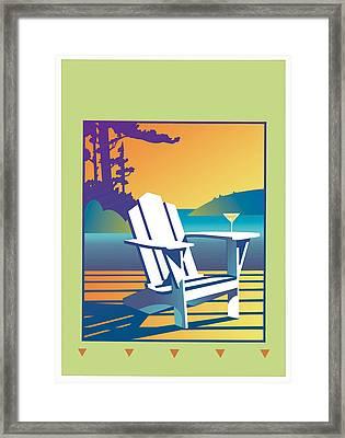 Summer Relax Framed Print
