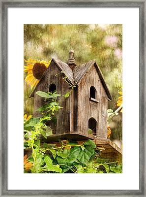 Summer Residence Framed Print