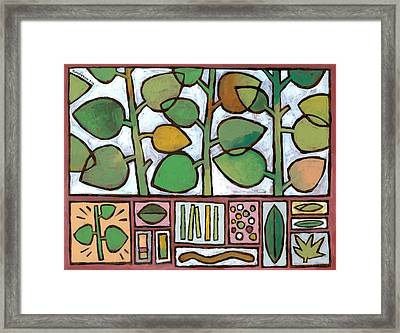 Summer Salad Framed Print by Douglas Simonson