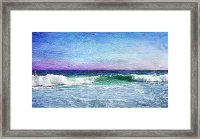 Summer Salt Framed Print by Laura Fasulo