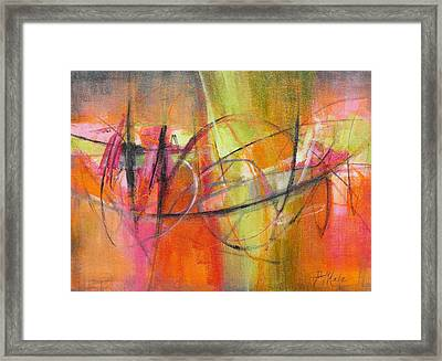 Summer Sangria Framed Print by Tracy Male