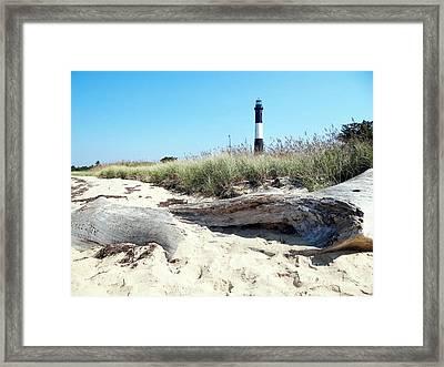 Framed Print featuring the photograph Summer Scene by Ed Weidman