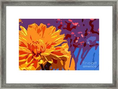 Summer Scene Framed Print by Liesl Marelli
