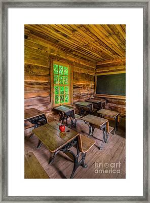 Summer School Framed Print by Anthony Heflin