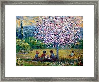 Summer School Framed Print