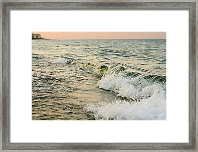 Summer Sea Framed Print by Laura Fasulo