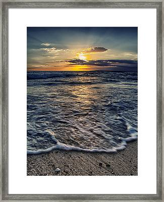 Summer Sea Framed Print by Stelios Kleanthous