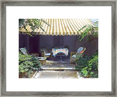 Summer Shade 2 Framed Print by Terry Reynoldson
