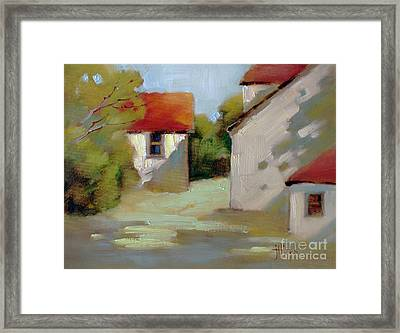 Summer Shadows Framed Print