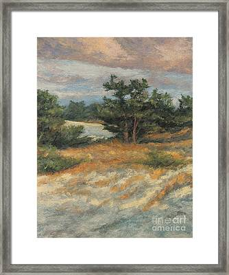 Summer Shadows - Provincetown Framed Print by Gregory Arnett