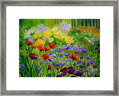 Summer Show Framed Print by Julie Brugh Riffey