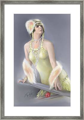 Summer Siren Framed Print