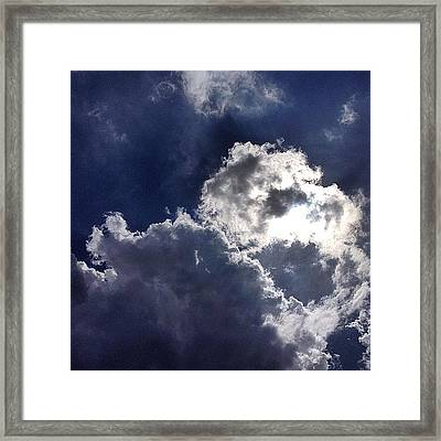 Summer Sky  Framed Print by Nic Squirrell