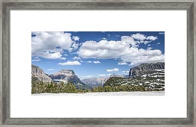 Summer Snow Framed Print by Jon Glaser
