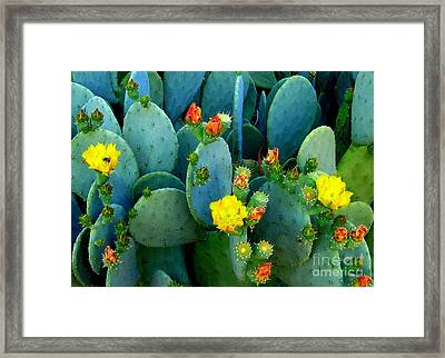 Framed Print featuring the photograph Summer Solstice  by Kathy Bassett