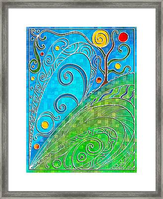 Summer Solstice Framed Print by Shawna Rowe